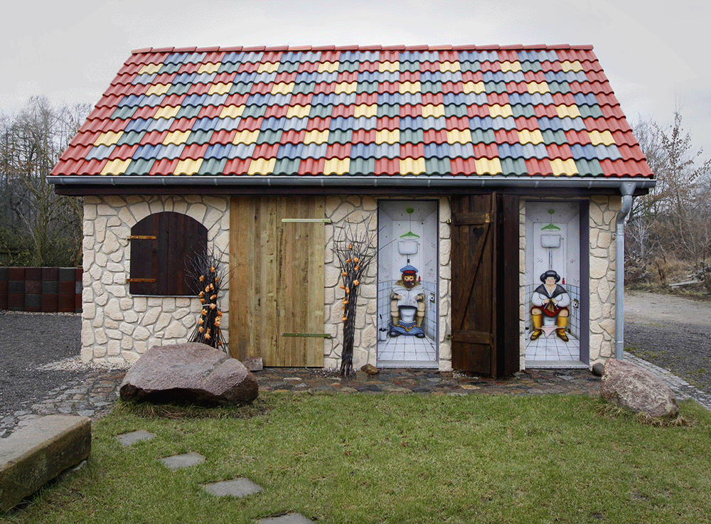 """Zum alten Kackhaus"""